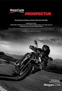MotorCycle Holdings prospectus