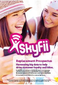Skyfii prospectus design