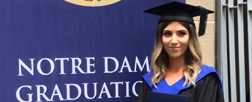 FCR awards Notre Dame's best corporate PR student