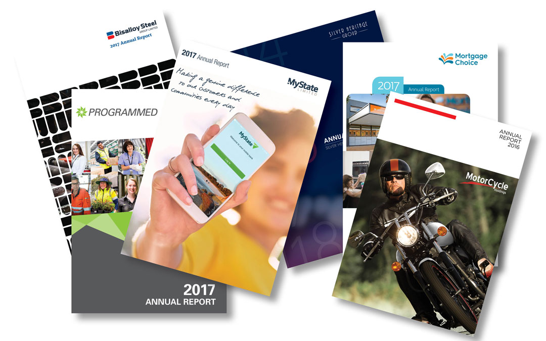 When the annual report requires a major change
