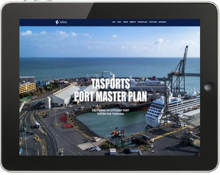 Tasports Port Master Plan