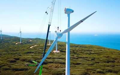 Boom secures work on wind farm