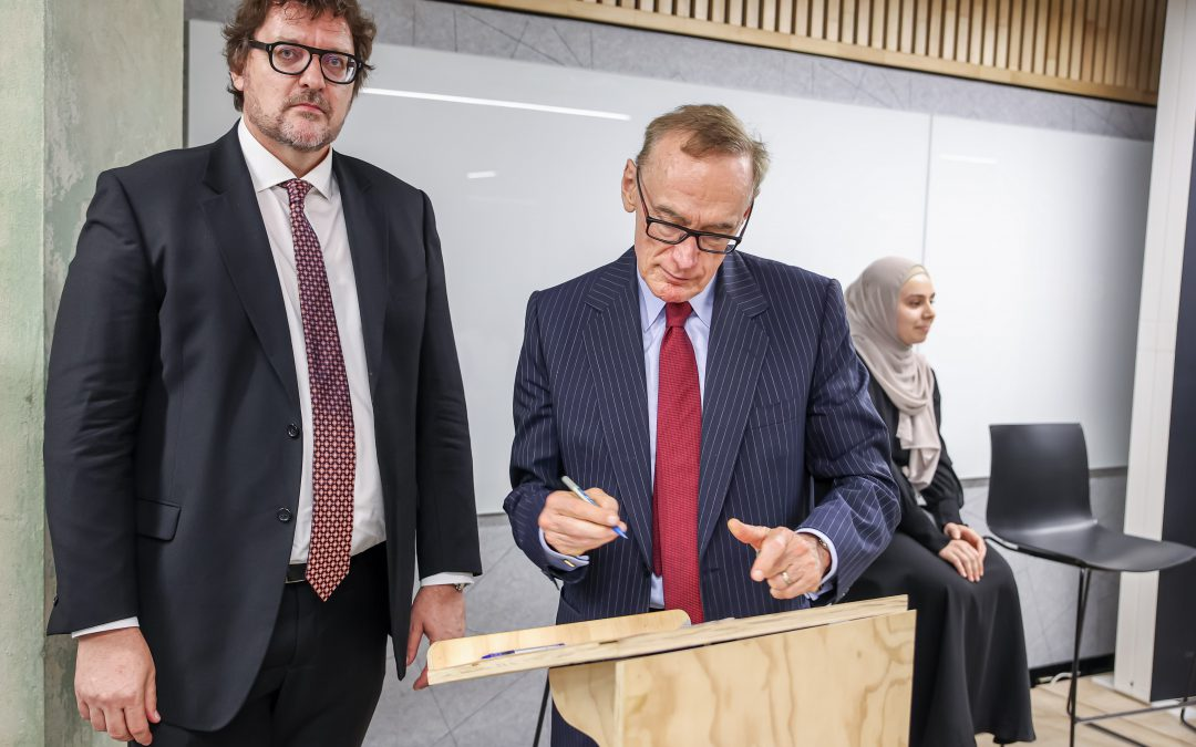 Crescent Foundation extends refugee student support programs to a third Australian university